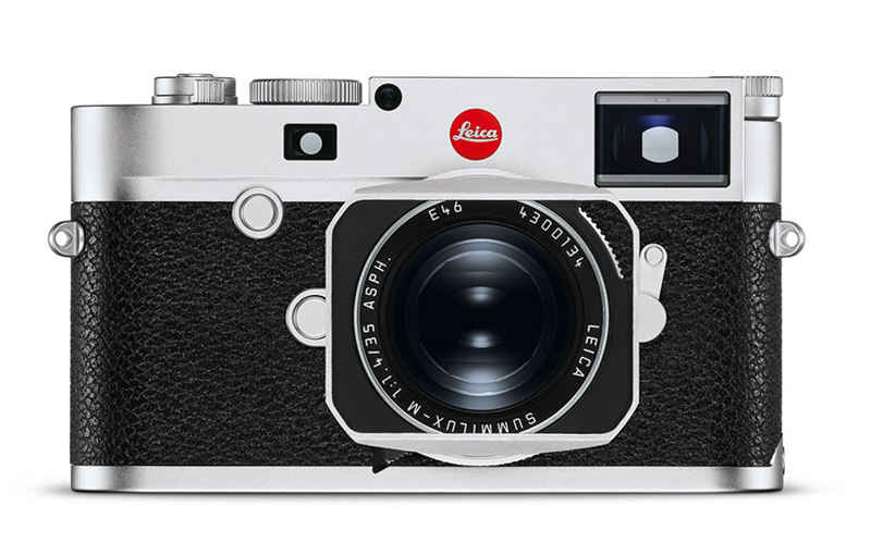 Leica M10-R in Silver Chrome.