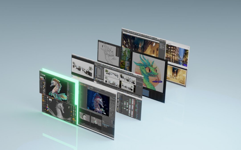 Even graphics-intensive workloads are no problem. Image courtesy of NVIDIA.