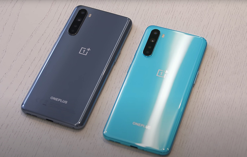 The final design of the OnePlus Nord, as revealed in the video. Source: Marques Brownlee.