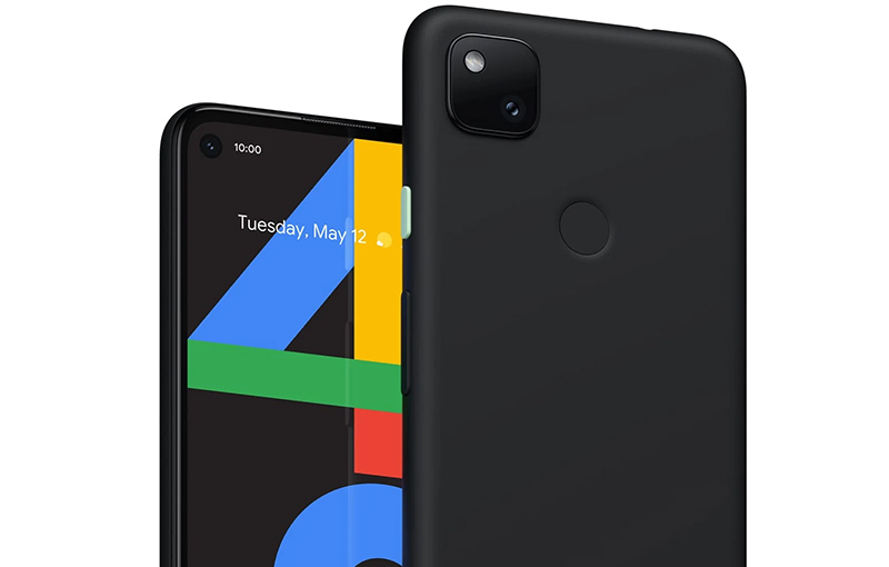 The leaked official render of Google Pixel 4a. Source: Android Police.