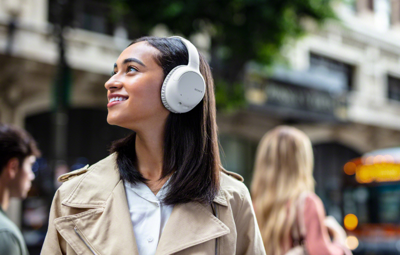 The WH-CH710N is one of Sony's entry-level wireless active noise-cancelling headphones. (Image source: Sony)