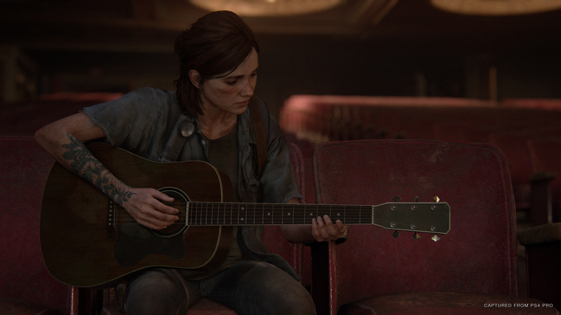 Joel finally taught Ellie how to play a guitar. Excuse me while I go cry. | Image: Sony Interactive Entertainment