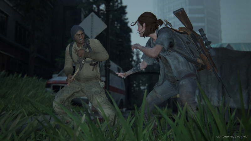 Getting spotted isn't always the end of the world. When infiltrating the hospital, I found that there many ways to run away and lose enemies. Even if I was in the thick of combat, Ellie's new Dodge ability helped keep her alive.