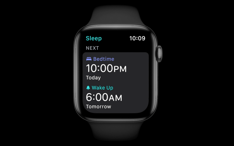 The Apple Watch can finally track your sleep.