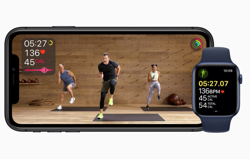 Are you ready to move to Apple Fitness+? Image courtesy of Apple.
