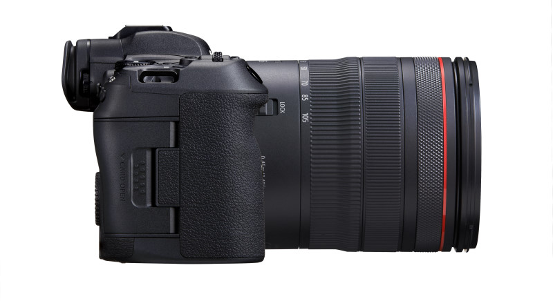 EOS R5 with RF 24-105mm f/4 L IS USM kit lens (Image: Canon)