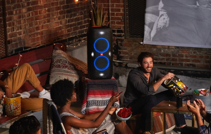 With the JBL PartyBox 310, you bring the party with you. Image courtesy of JBL