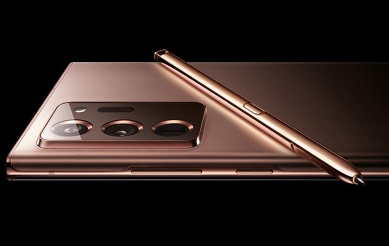 Purported press image of the Samsung Galaxy Note20. <br>Image source: @ishanagarwal24