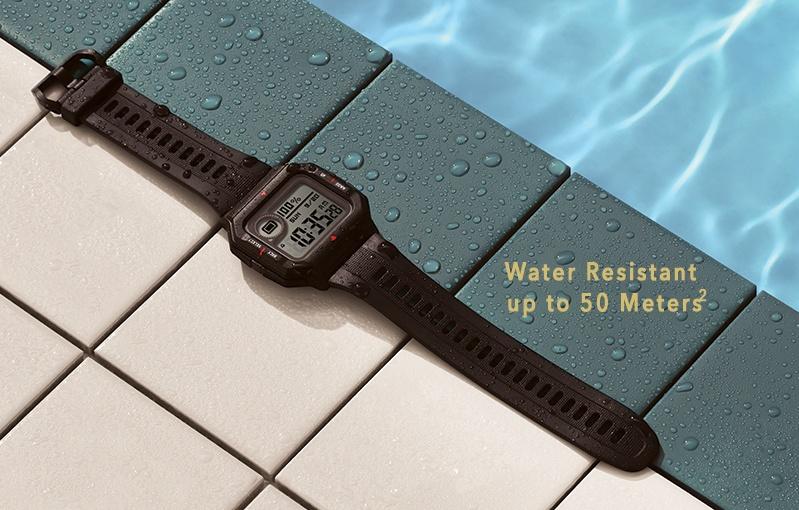 Go swimming if you need to. Image courtesy of Amazfit.