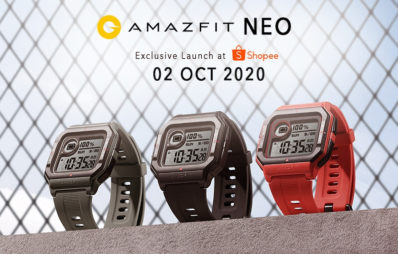Check out the promo on Shopee now. Image courtesy of Amazfit.