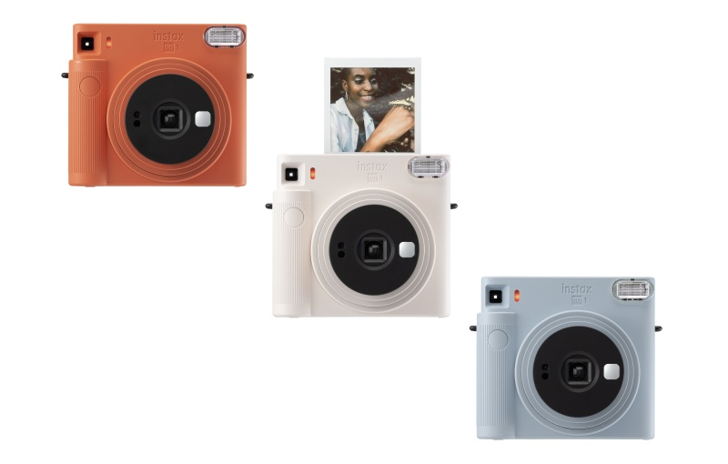 The new camera comes in three colours. Image courtesy of Fujifilm.
