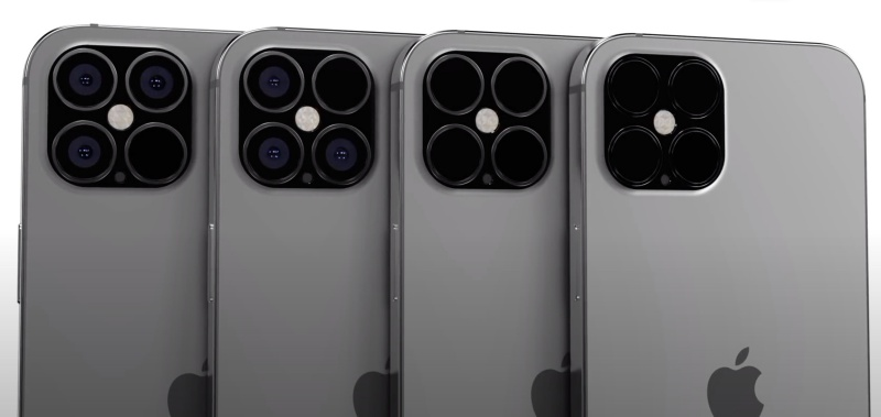 "Screenshot taken from EverythingApplePro's YouTube video ""Exclusive iPhone 12 Pro Leaks! 120Hz CONFIRMED""."