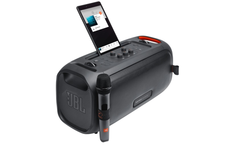 The portable boombox. Image courtesy of JBL