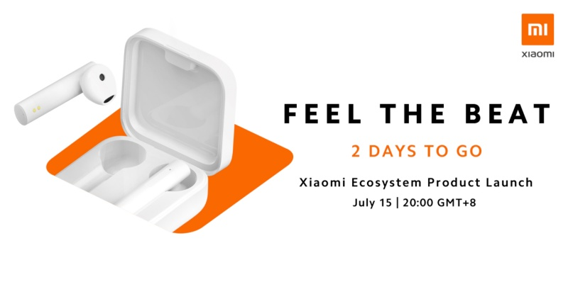 Xiaomi's tweet on the earphones let the cat out of the bag