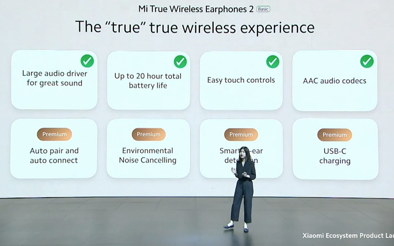 Go talking about what makes a True Wireless experience