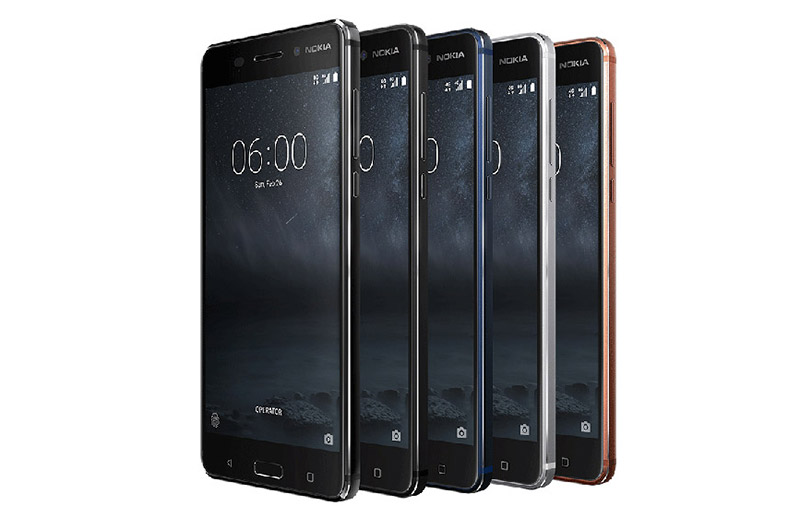 The Nokia 6 phone. <br>Image source: Nokia