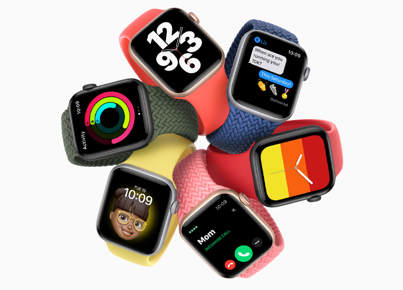The new Apple Watch SE. (Image source: Apple)