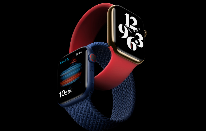 The new Apple Watch Series 6 (Image source: Apple)