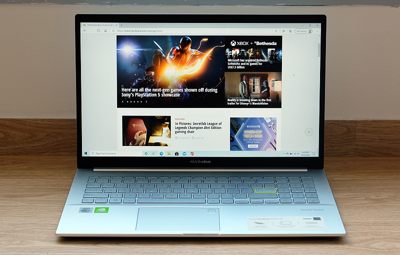 This is the ASUS VivoBook S15.