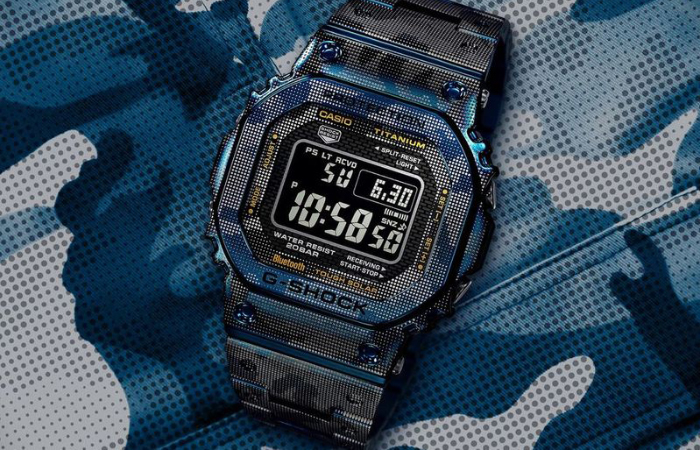 The new G-Shock GMW-B5000TCF-2DR (Image source: Casio)