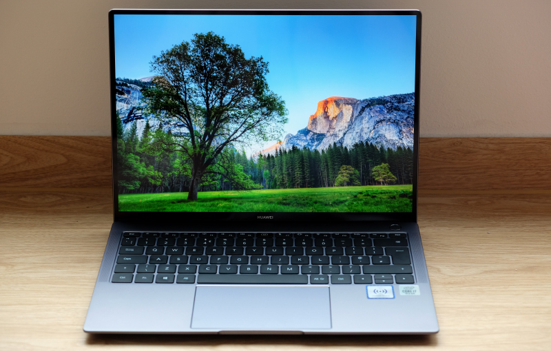 The MateBook X Pro is Huawei's flagship ultraportable notebook.