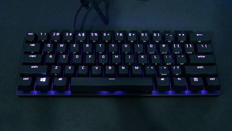 This is Razer's first 60% keyboard.