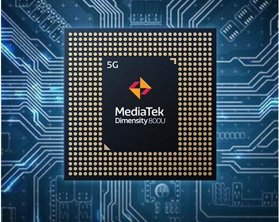 The MediaTek Dimensity 800U. <br>Image source: MediaTek