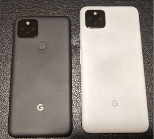The Google Pixel 5 (left) and Pixel 4a 5G (right). <br>Image source: XDA Developers.
