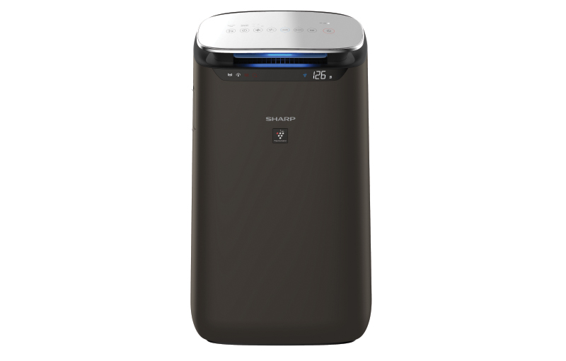 The Sharp FP-J80E-H air purifier features Plasmacluster technology and has a claimed coverage area of 62m². (Image source: Sharp)