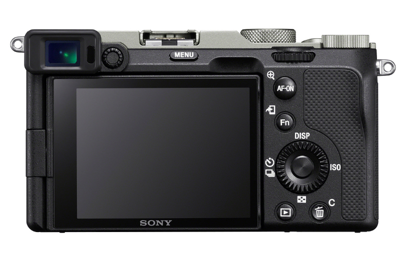 The rear LCD has a resoluton of 921,000 dots. (Image source: Sony)