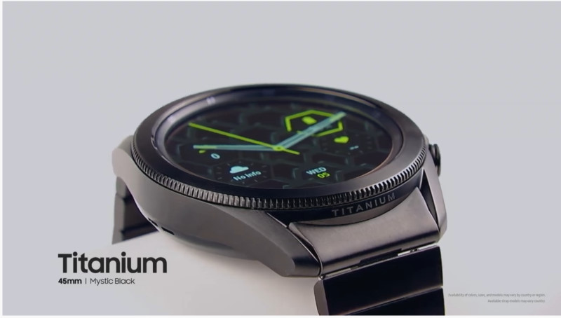 There is a specialTitanium variant of the Watch3, and we can't wait for it to be available.
