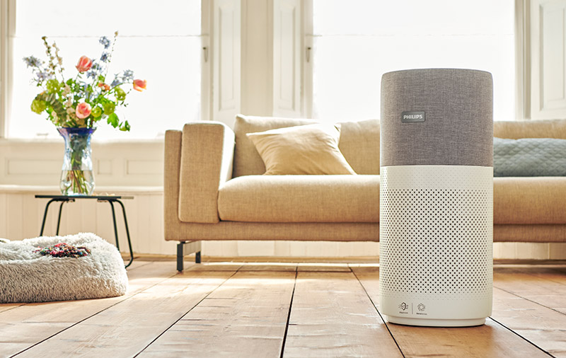 The Philips 3000i air purifier is about 65cm tall. (Image: Philips.)