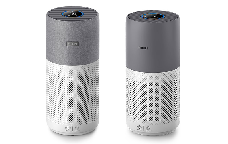 The 2000 series (right) can do most of what the 3000i is capable of, so your decision should be based more on your room size or how much you want to spend. (Image: Philips.)