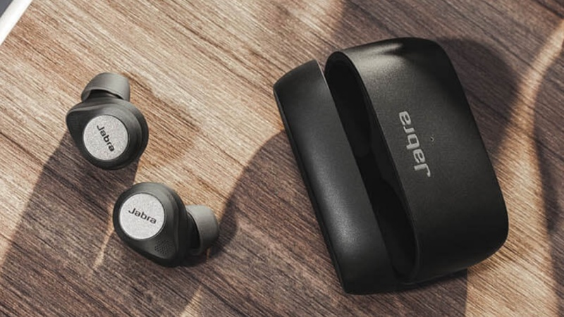 The Jabra Elite 85t. <br>Image source: Jabra