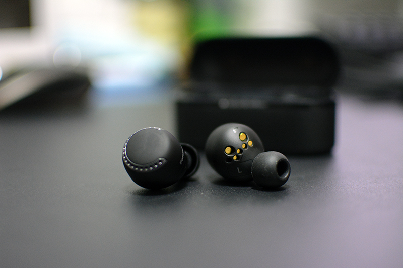 How does Panasonic's first attempt at true wireless earbuds fare against its competition?