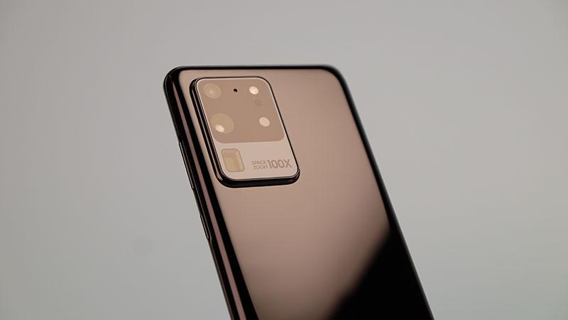Samsung Galaxy S20 Ultra.