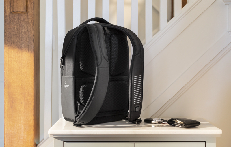 The backpack has promise yet to be fully realised. Image courtesy of Samsonite.