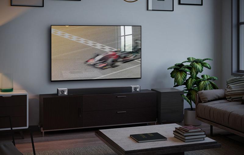Klipsch Cinema 400 Soundbar in living room
