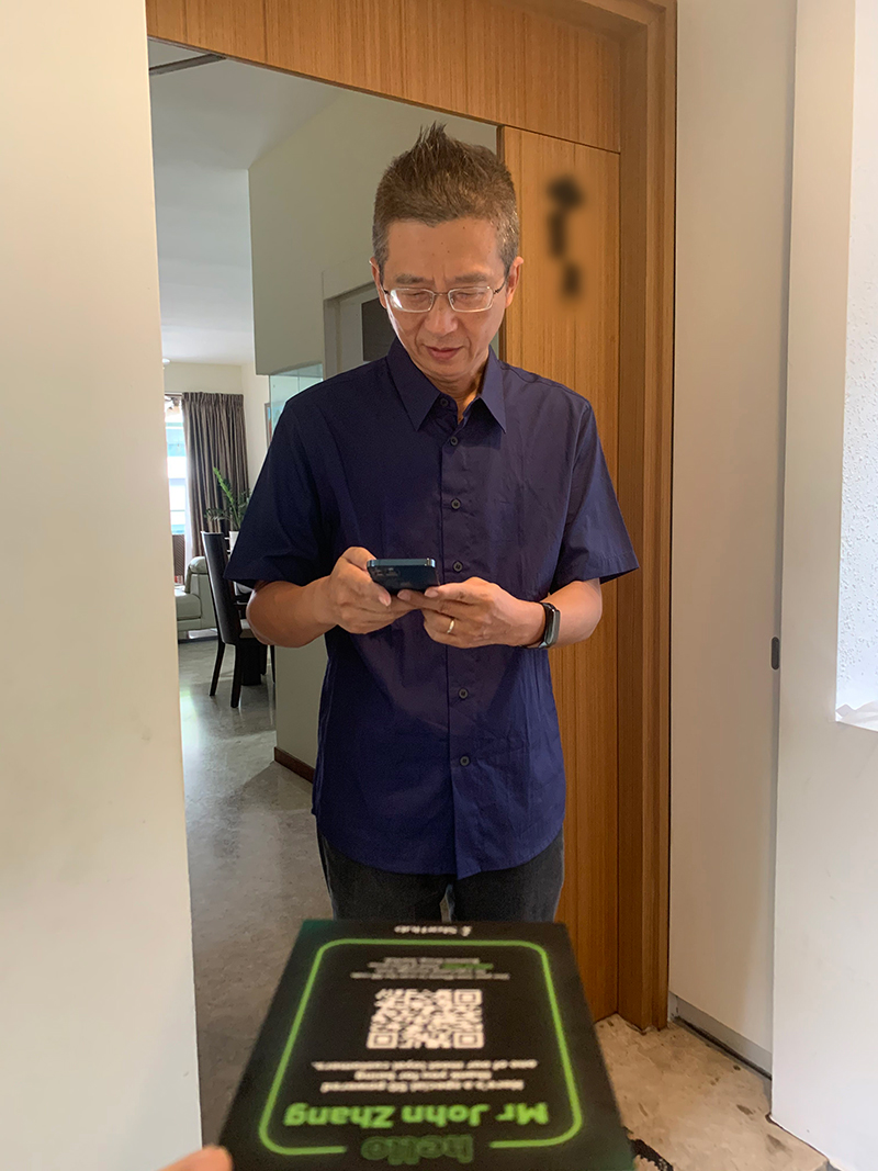 """I have been using StarHub's services for 20 years, and it is my first time having such an experience. It is quite amazing,"" said Mr John Zhang, Managing Director of JLFC Pte Ltd, who uses multiple StarHub services and subscriptions for his home and business."