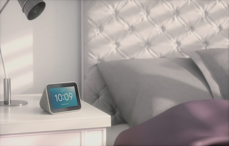 Lenovo Smart Clock in bedroom (Image source: Lenovo)