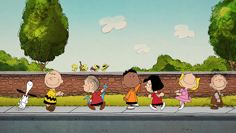 The 'Peanuts' gang is coming to Apple TV+ in full force. (Image: Apple.)