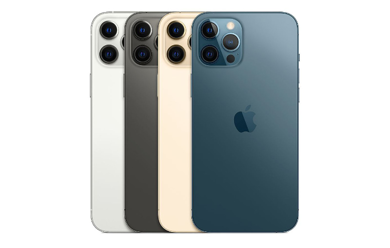 There are four colours to choose from: Silver, Graphite, Gold, and Pacific Blue. (Image source: Apple)