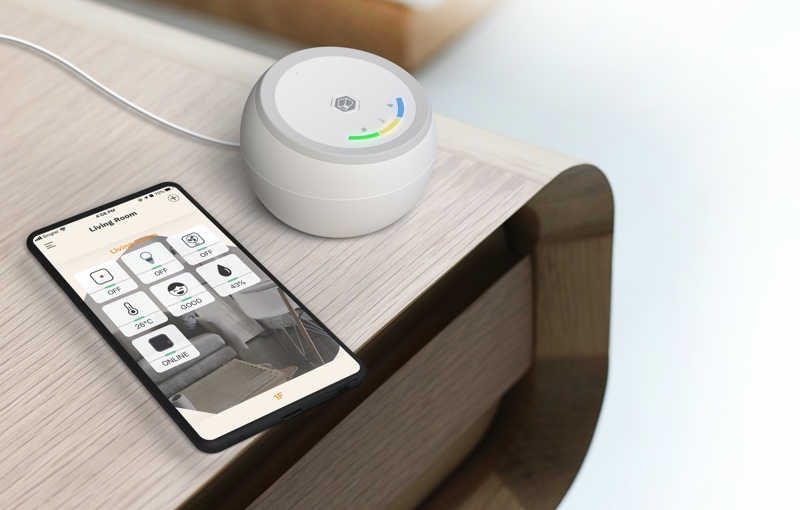 In time to come, you can control your air purifier from the app too. Image courtesy of Aztech