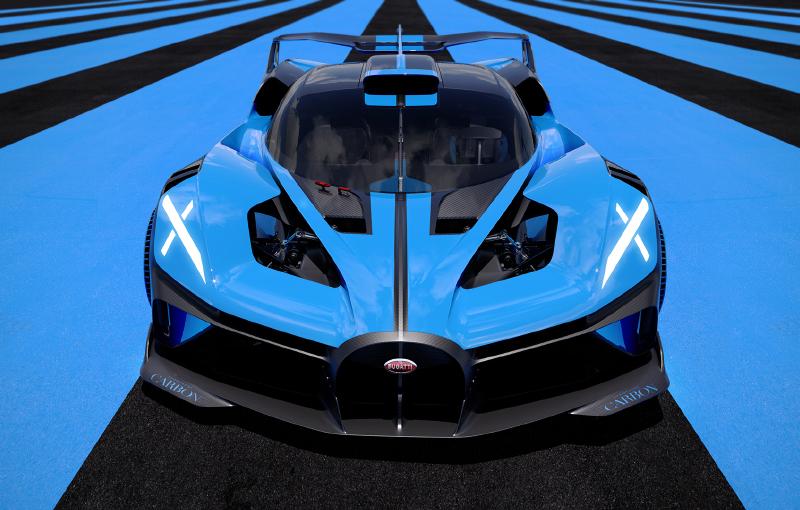 The Bugatti Bolide. (Image source: Bugatti)