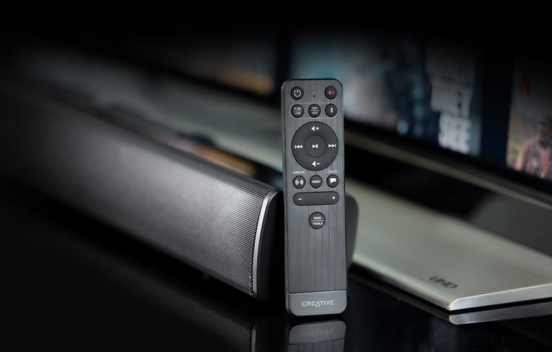 I love how the remote looks, Image courtesy of Creative.