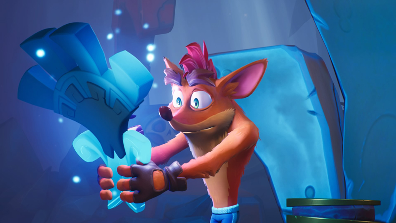 Crash and Coco Bandicoot travel across the multiverse to collect Quantum Masks and stop the universe from dying.