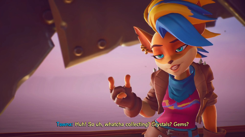 Multiple characters are newly playable in Crash Bandicoot 4, including Tawna - Crash's ex-girlfriend.