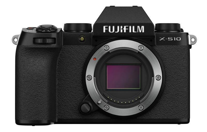 The new Fujifilm X-S10. (Image source: Fujifilm)