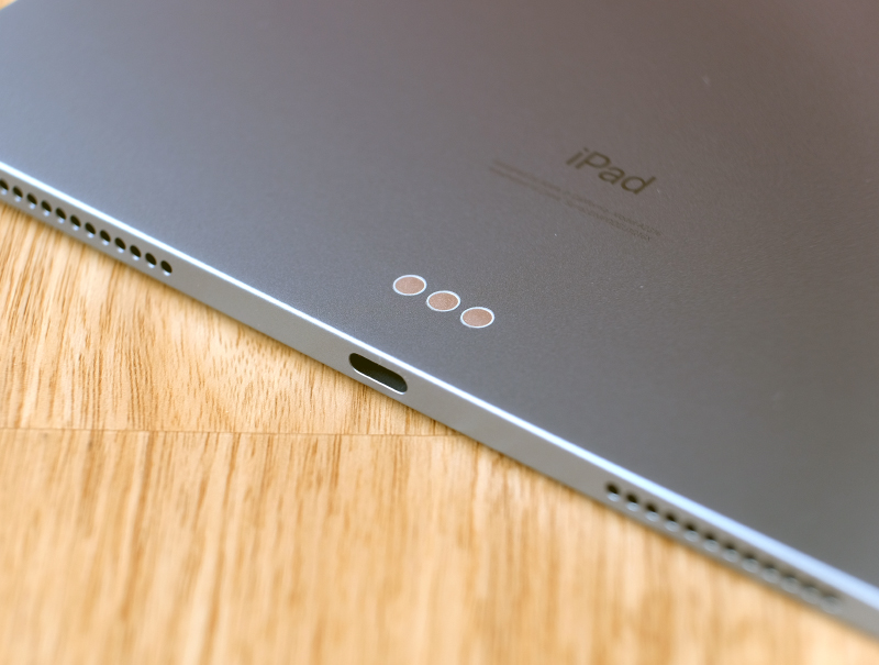Happily, the iPad Air ditches the Lightning port for a more modern and versatile USB-C port.