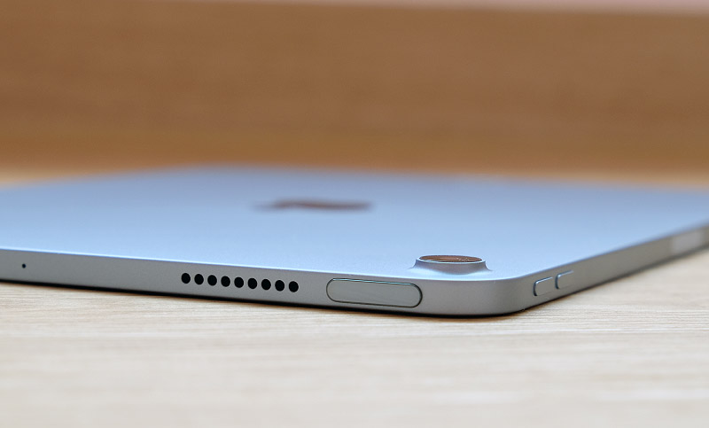 Apple has integrated the Touch ID sensor into the top button.